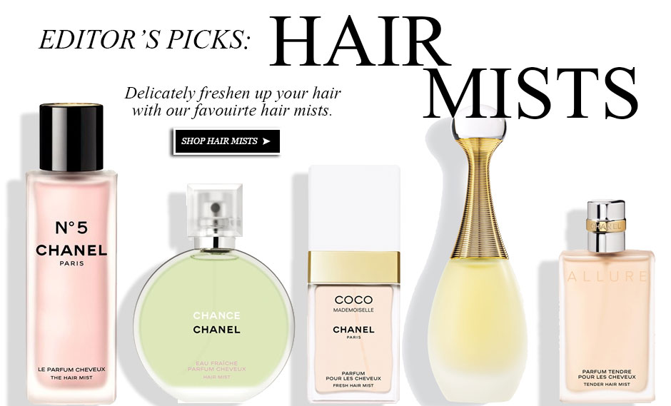 hair mist, fragrance for hair