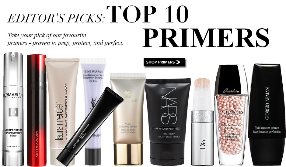 top makeup primers, best makeup primers, makeup primer reviews