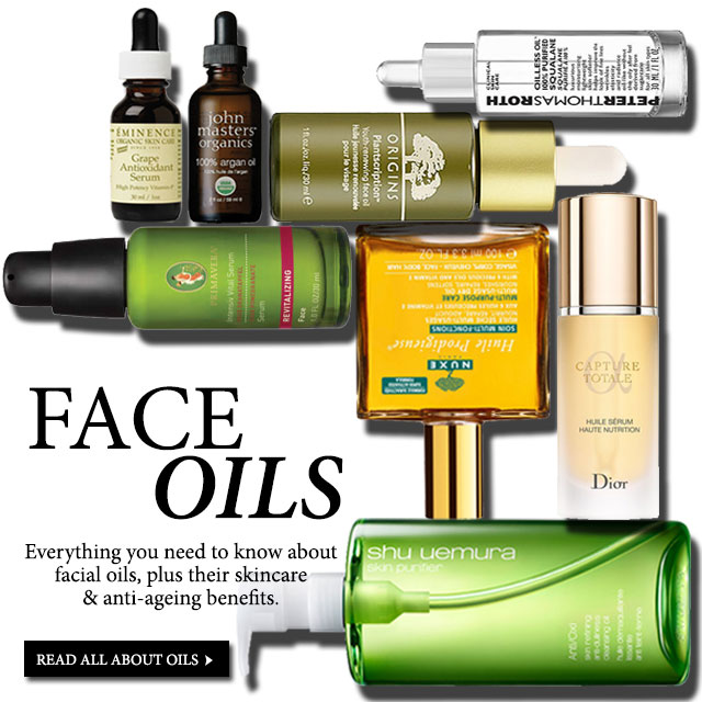 facial oils, everything you need to know about facials oils